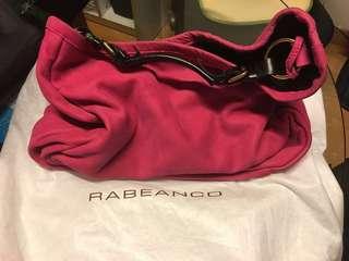 Rabeanco 桃紅色 上膊/手挽袋
