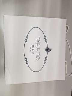 Prada 壓紋紙袋 (特大)