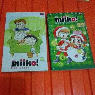 Buku Komik Hai Miiko Cerita Anak Anak