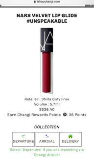 NARS Velvet Lip Glide (Unspeakable)