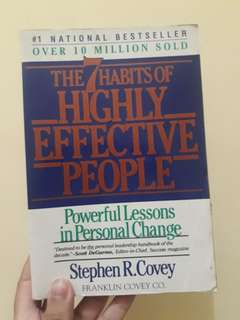 Buku Impor Bestseller 7 Habits of Highly Effective People