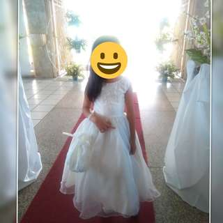 Little Bride Gown For Rent