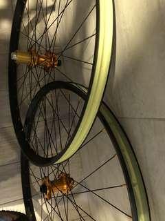 Hope Pro 2 Evo Trace Enduro wheelset 27.5- ORANGE