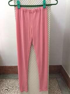 🚚 粉色伸縮長褲