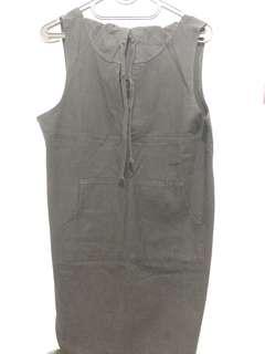 Black outer dress