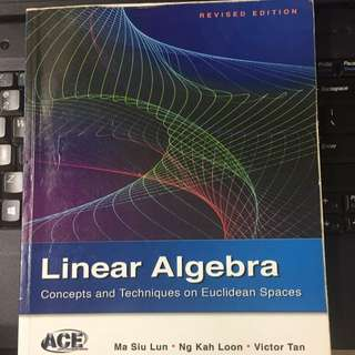 NUS Linear Algebra Textbook