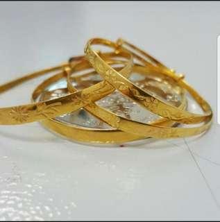 Baby Gold Bracelet since 1940's