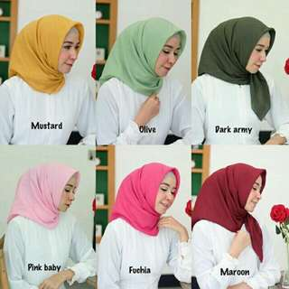 Premium voal hijab