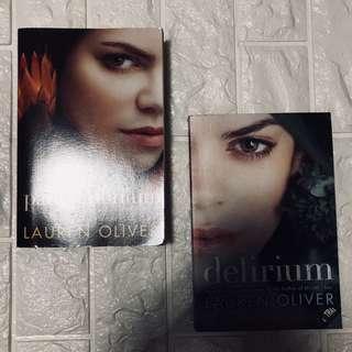 Delirium series by Lauren Oliver