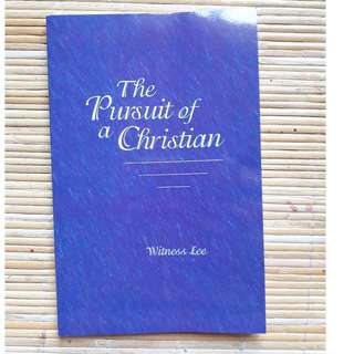 Pursuit of a Christian by Witness Lee