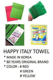 Happy Italy Towel