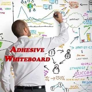 🙂 *ADHESIVE WHITEBOARD