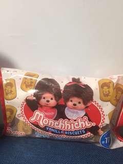 Monchhichi公仔忌廉餅