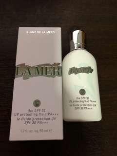 La Mer Blanc De La Mer SPF 30 UV protecting fluid PA+++ 50ml with box