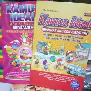 Paketan Kamus Ideal Inggris  Indonesia Grammar And Conversation