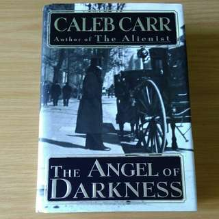 angel of darkness - caleb carr (large book,  hardcover)
