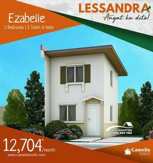 Affordable house & lot with aminities