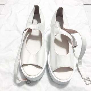 🚚 超美繞腳踝增高鞋