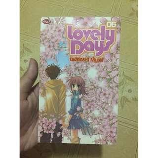Comic Lovely Days Volume 6