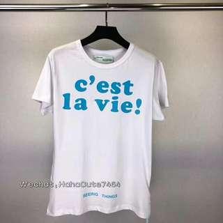 (价格私询)Offwhite17fw法国限定