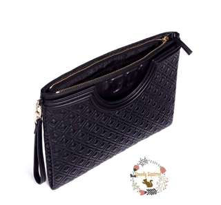 tory burch fleming large pouch