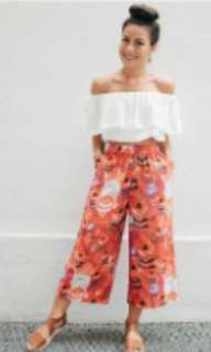 Terno (top+garter pants)
