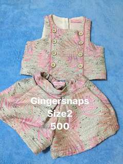 Preloved Gingersnaps playsuits