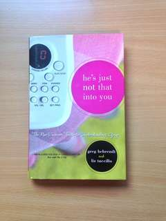 He's Just Not Into You Hardback The No-excuse Truth to Understanding Guys
