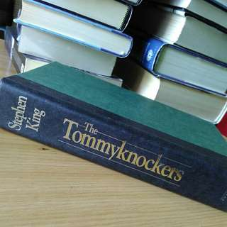 tommyknockers - stephen king (large book, hardcover)