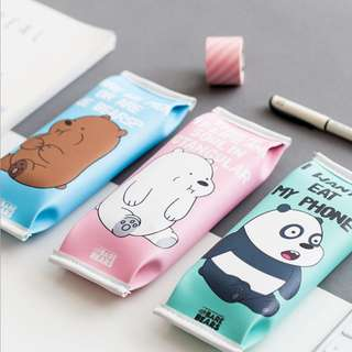 We Bare Bears Pencil Cases ( D1 )