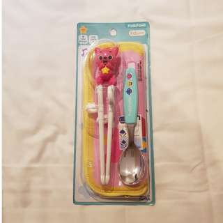 PinkFong Spoon and Chopstick set