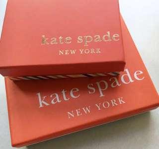 Kate spade boxes