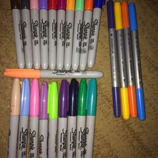 Sharpies markers
