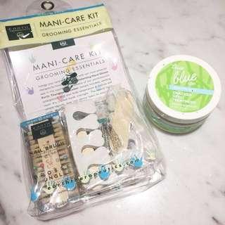 Earth Therapeutics Mani Care Kit and Treatment