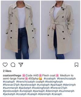 Coats on the Go Trench Coat