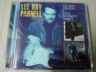 Music CD (Country): Lee Roy Parnell–Lee Roy Parnell / Love Without Mercy - Country Rock