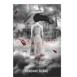 Ebook Anna Dressed in Blood - Kendare Blake