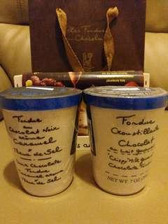 法國朱古力火鍋溶les fondues au chocolat