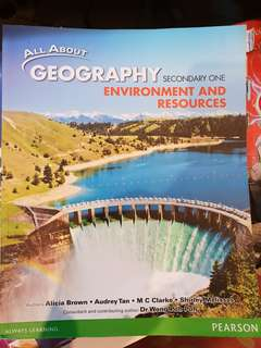 All about geography sec 1 text book