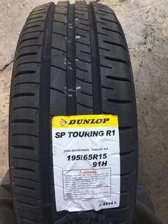 195/65R15 Dunlop SP Touring R1