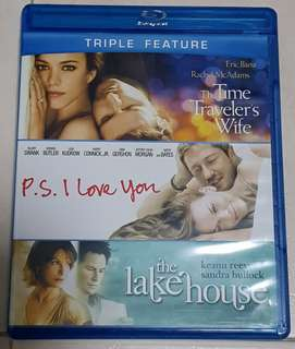 Triple Feature 3 Movie Bluray Collection