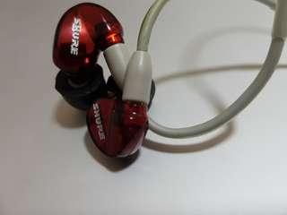 Shure SE535 Special Edition 紅色特別版