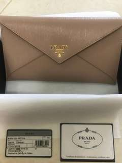 BN Prada Envelope Wallet