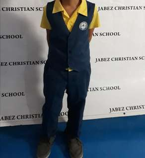 Prelove jabez uniform for grade2 and K3