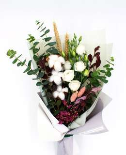 Mother's day cotton flower bouquet
