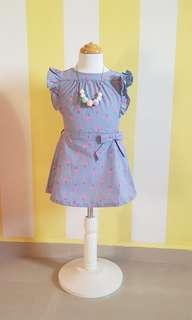 [New] Classic Timeless Girls Dress Flamingo 2T