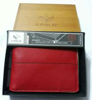 Authentic J. Fold Wallet
