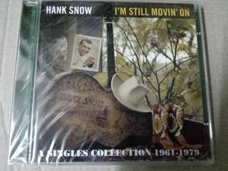 Music CD (2xCD, sealed): Hank Snow ‎– I'm Still Movin' On - A singles Collection 1961-1979 - Country Music Legend, compilation 2011