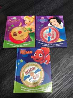 Disney books with CDs