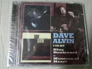 Music CD (sealed, 2xCD): Dave Alvin ‎– Blue Boulevard & Museum Of Heart - Alternative Country, Blasters